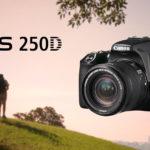 Създавай красиви спомени бързо и лесно с Canon EOS 250D, най-лекия DSLR с подвижен дисплей в света