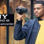 AX43 е нов компактен 4K Handycam с модерни технологии за стабилизиране на изображението