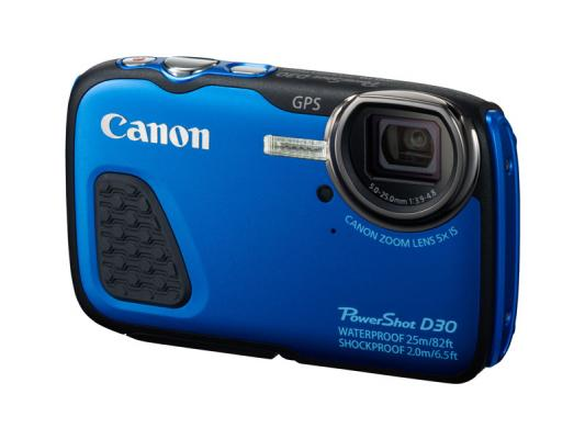 Фотоапарат Canon PowerShot D30 Син