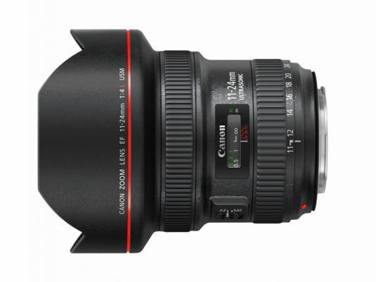 Обектив Canon EF 11-24mm f4L USM