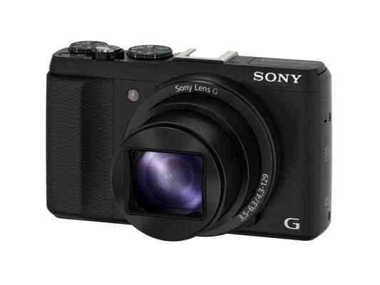 Фотоапарат Sony Cyber-Shot DSC-HX60 Black + Твърд калъф Sony LCJ-HN за Cyber-shot™ HX50