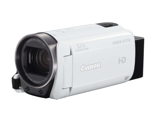 Видеокамера Canon HFR706 White