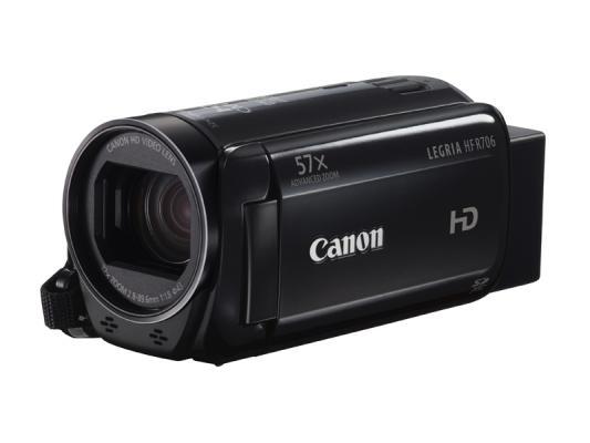 Видеокамера Canon HFR706 Black