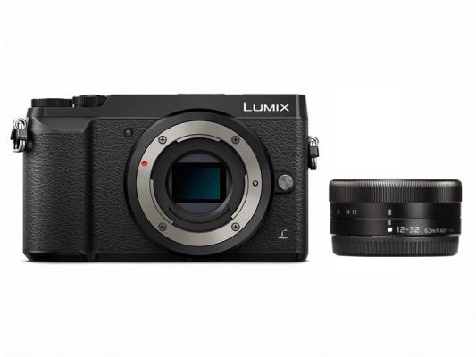 Фотоапарат Panasonic Lumix DMC-GX80 Black тяло + Обектив Panasonic  Lumix G Vario 12-32mm f/3.5-5.6 ASPH.