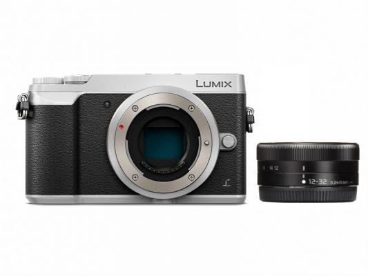 Фотоапарат Panasonic Lumix DMC-GX80 Silver тяло + Обектив Panasonic  Lumix G Vario 12-32mm f/3.5-5.6 ASPH.