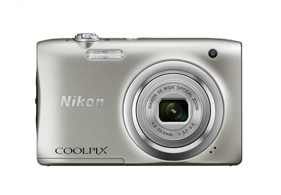 Фотоапарат Nikon Coolpix A100 Silver