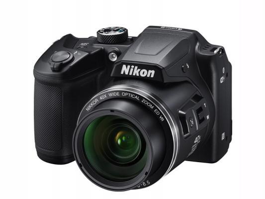 Фотоапарат Nikon Coolpix B500 Black + чанта CS-P08 + Зарядно устройство Panasonic Eneloop с батерии AA 1900mAh (LR06) 4бр