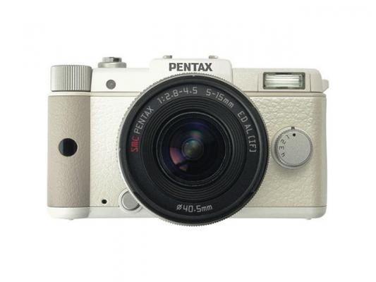 Фотоапарат Pentax Q White kit (5-15mm)