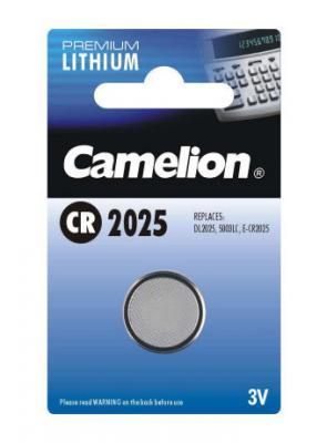 Литиева батерия Camelion CR2025