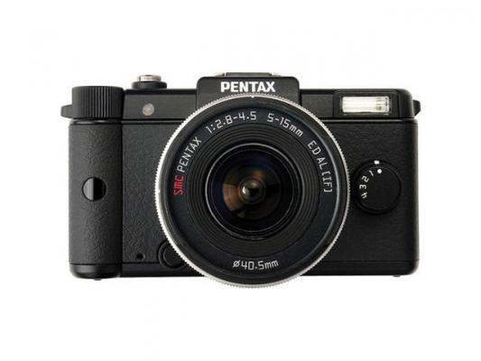 Фотоапарат Pentax Q Black kit (5-15mm)