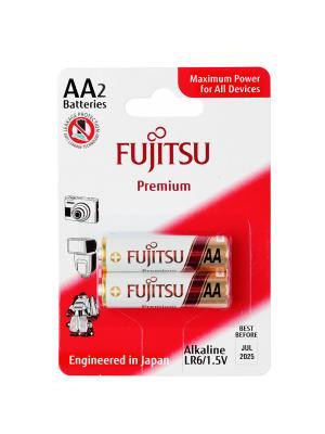 Алкални батерии AA Fujitsu Premium (LR06) 2бр