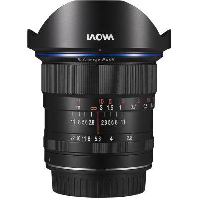Обектив Laowa 12mm f/2.8 ZERO-D за Canon