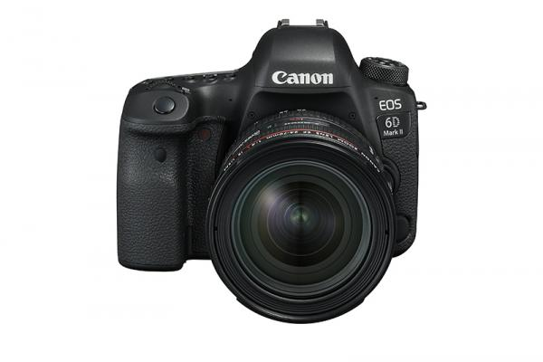 Фотоапарат Canon EOS 6D Mark II тяло + Обектив Canon EF 24-70mm f/4L IS USM