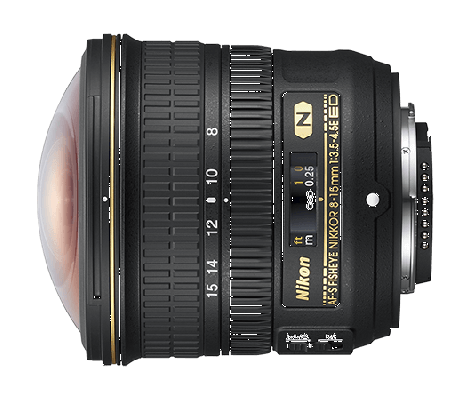 Обектив Nikon AF-S Nikkor 8-15mm f/3.5-4.5E ED Fisheye