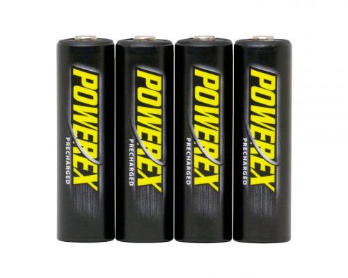Акумулаторни батерии AA Powerex Precharged  2600mAh (4бр)