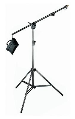 Статив с напречно рамо Manfrotto Black Alu Combi-Boom Stand 420B