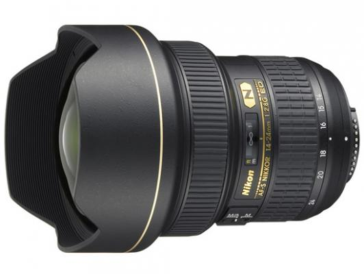 Обектив Nikon AF-S Nikkor 14-24mm f/2.8G ED