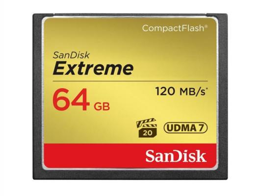 Памет CF SanDisk Extreme 64GB 800x (120MB/s)