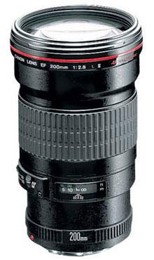 Обектив Canon EF 200mm f/2.8L II USM
