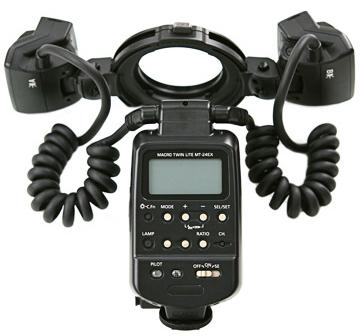 Светкавица Canon Macro Twin Lite MT-24EX