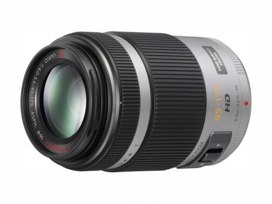 Обектив Panasonic Lumix G X VARIO PZ 45-175mm f/4-5.6 ASPH. POWER O.I.S. Silver