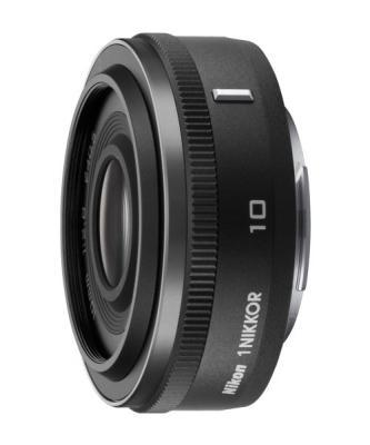 Обектив Nikon 1 Nikkor 10mm f/2.8 Black