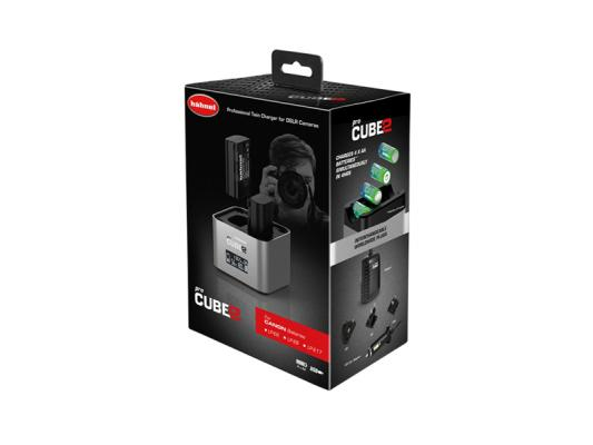 Зарядно устройство Hahnel ProCube 2 за Canon +  Батерия Hahnel Li-Ion HL-E6 заместител на Canon LP-E6 (2 бр.)