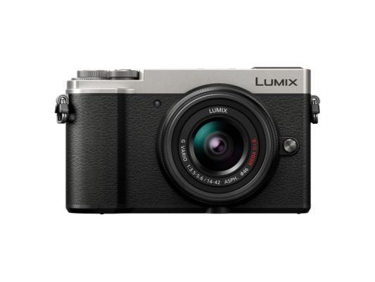 Фотоапарат Panasonic Lumix GX9 Silver+ Обектив Panasonic  Lumix G VARIO 14-42mm f/3.5-5.6 ASPH MEGA O.I.S.
