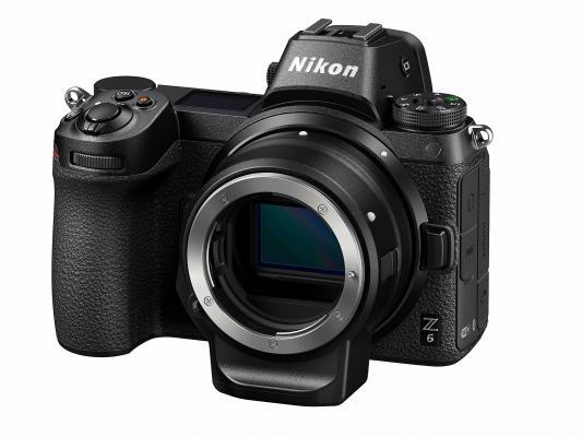 Фотоапарат Nikon Z6 тяло + преходник Nikon FTZ + Памет XQD Sony 64GB G Series (R-440 - W400 MB/s)