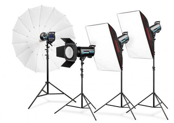 Комплект студийно осветление Expert QS II1800 PRO