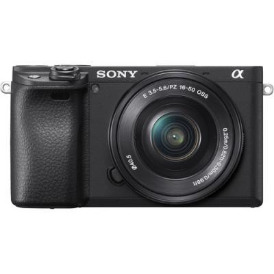 Фотоапарат Sony Alpha A6400 тяло + Обектив Sony E PZ 16-50mm f/3.5-5.6 OSS