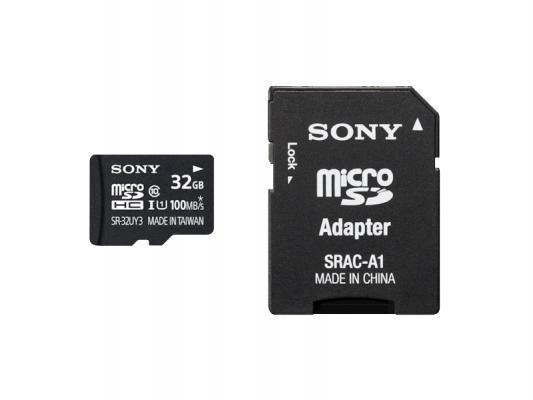 Памет Sony microSDHC UHS-I (100MB/s) 32GB
