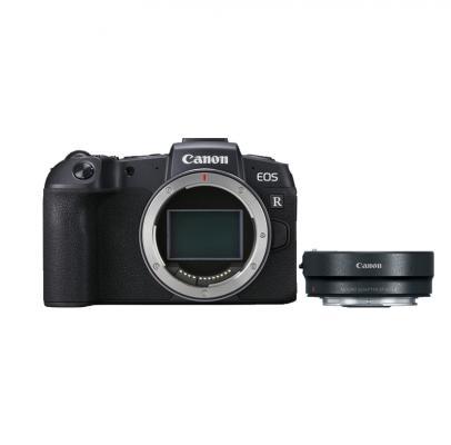Фотоапарат Canon EOS RP тяло + Адаптер Canon EF-EOS R