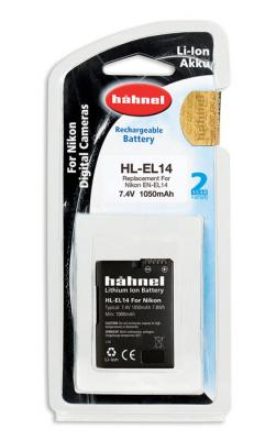 Батерия Hahnel Li-Ion HL-EL14 (заместител на Nikon EN-EL14)