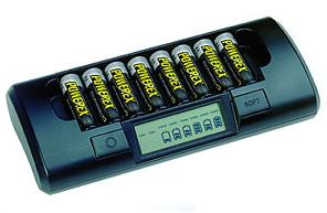 Зарядно устройство Maha/Powerex MH-C801D + калъф за зарядно устройство Maha/Powerex MHS-CC180