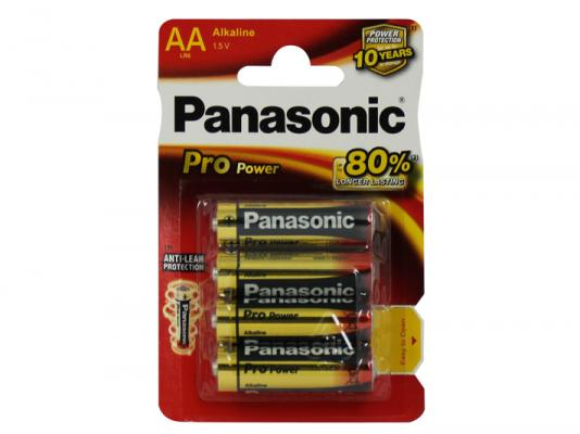 Алкални батерии AA Panasonic Pro Power (LR06) 4бр