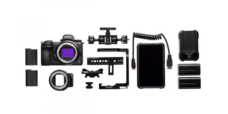 Фотоапарат Nikon Z6 тяло + преходник Nikon FTZ - Essential Movie Kit + Памет XQD Sony 64GB G Series (R-440 - W400 MB/s)