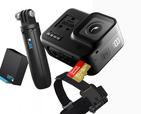 Екшън камера GoPro HERO 8 Black Hard bundle
