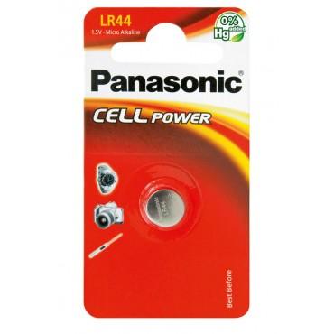 Алкална батерия Panasonic Cell Power LR44 (1бр)