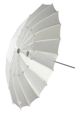 Бял дифузен чадър Dynaphos Fibro 150 см