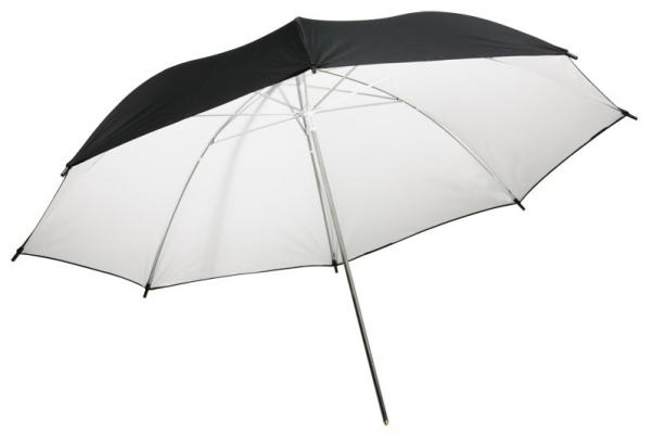 Бял отражателен чадър Dynaphos 105 см