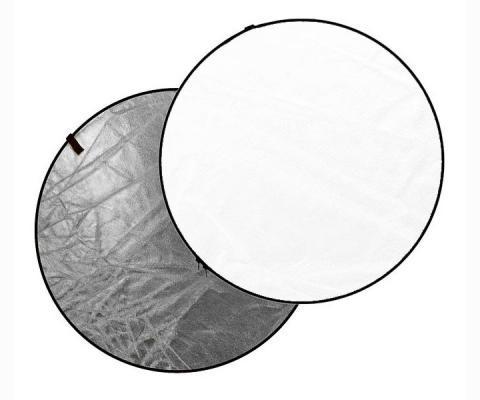 Отражателен диск Dynaphos 2 в 1 56 см Silver/White