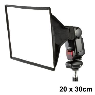 Мини софтбокс за ръчна светкавица Dynaphos 20x30 см
