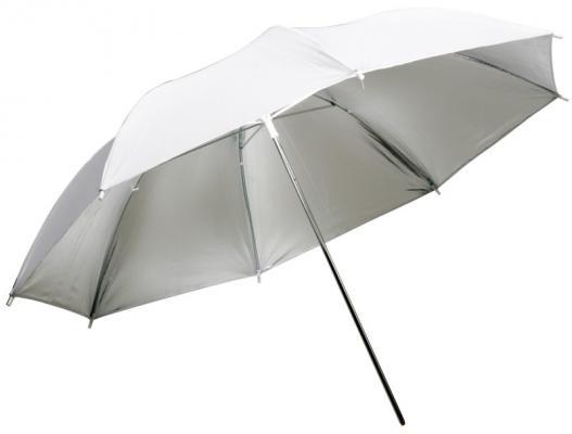 Сребрист отражателен чадър Dynaphos 105 см