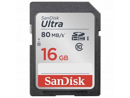 Памет SDHC SanDisk Ultra 16GB (80MB/s)