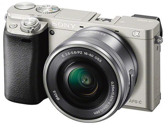 Фотоапарат Sony Alpha A6000 Silver Kit (16-50mm OSS)