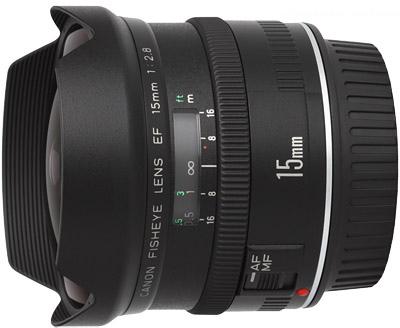 Обектив Canon EF 15mm f/2.8 fisheye