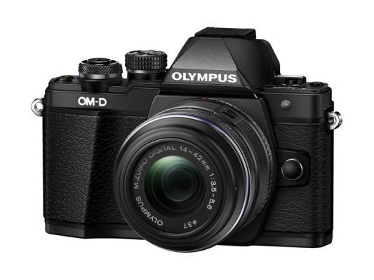 Фотоапарат Olympus OM-D E-M10 Mark II Black тяло + Обектив Olympus M.Zuiko Digital 14-42mm f/3.5-5.6 II R