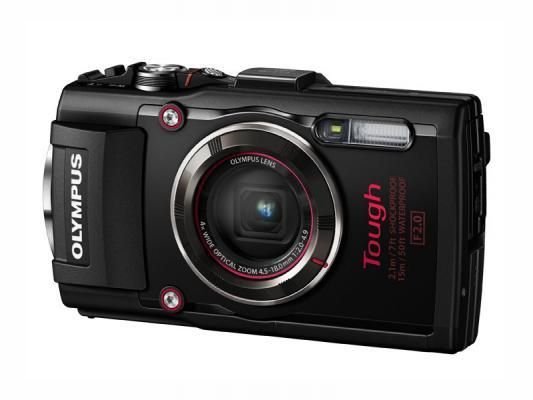 Фотоапарат Olympus Stylus TG-4 Black + Адаптер Olympus LG-1 LED Light Guide