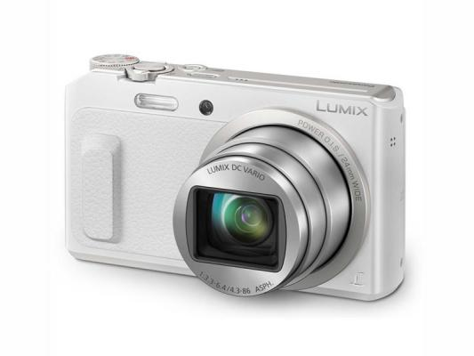 Фотоапарат Panasonic Lumix DMC-TZ57 White